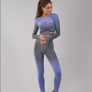 GYMSHARK Ombré Seamless Set / XS/ Authentic